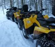 ATV SAFARI IN GAUJA NATIONAL PARK, LATVIA