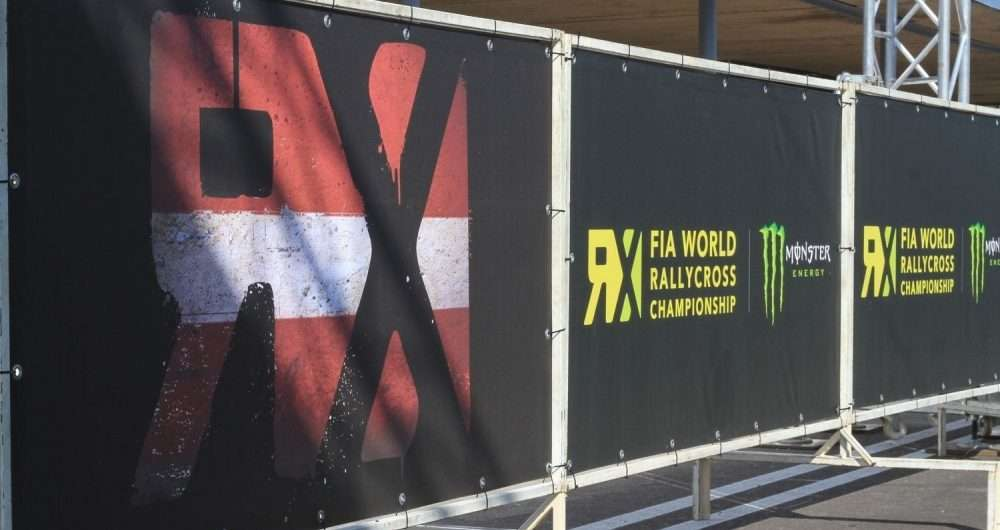RX worldrallycross championship latvia
