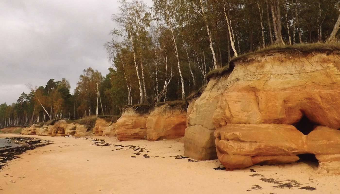 rocky beaches of riga gulf