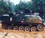 tank driving Vilnius