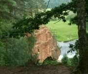 Zvartas cliff