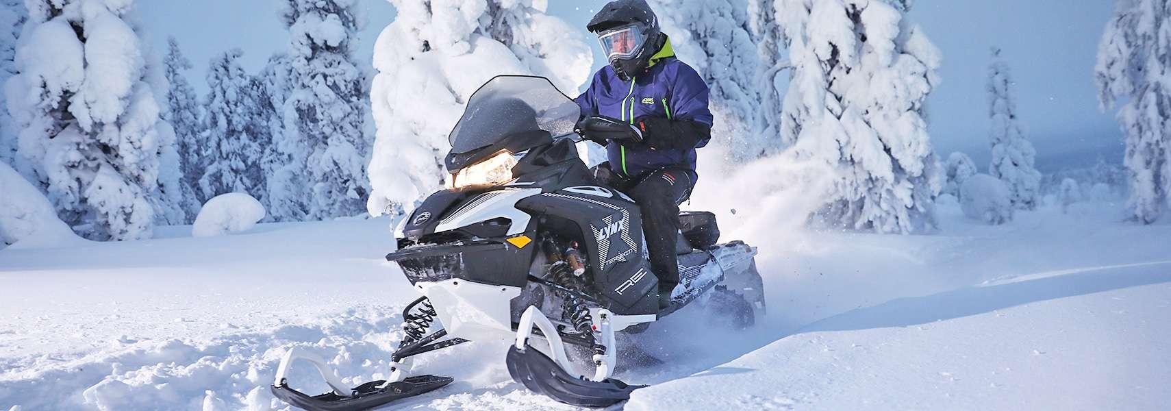 snowmobile safari in Estonia